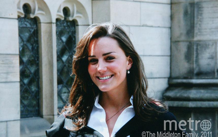Кейт Миддлтон в юности. Фото Getty