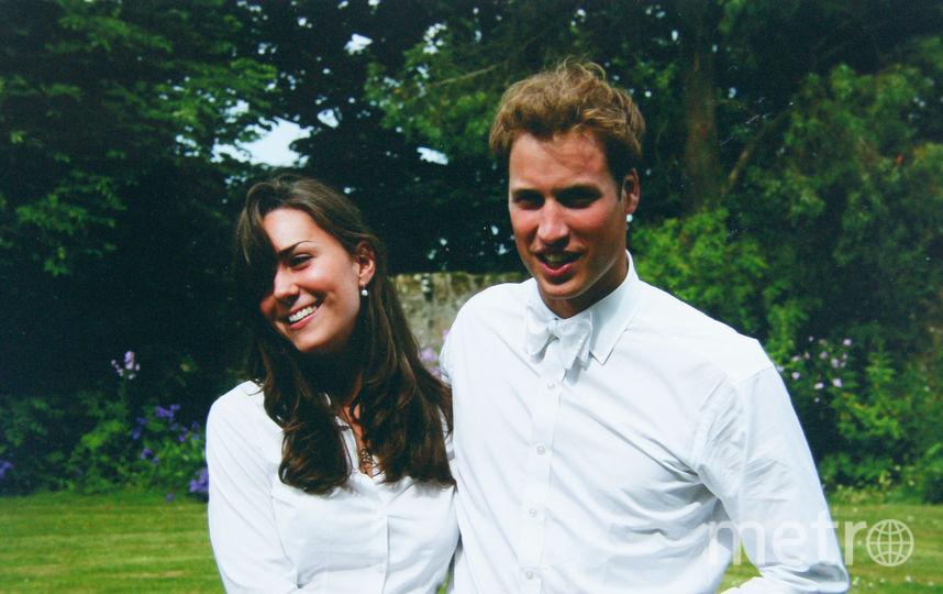 Кейт Миддлтон и принц Уильям в молодости. Фото Getty