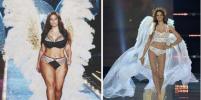 Пышногрудая Эшли Грэм примерила образ моделей Victoria's Secret