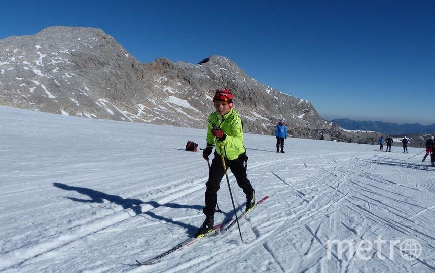 Семиклассник Роман Старков занимается лыжами шесть лет. Фото Из личного архива