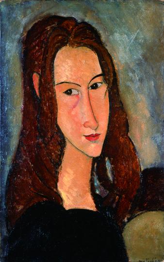 «Портрет девушки с рыжими волосами» (1918 год), Амадео Модильяни. Фото все фото предоставлены пресс-службой музея Фаберже