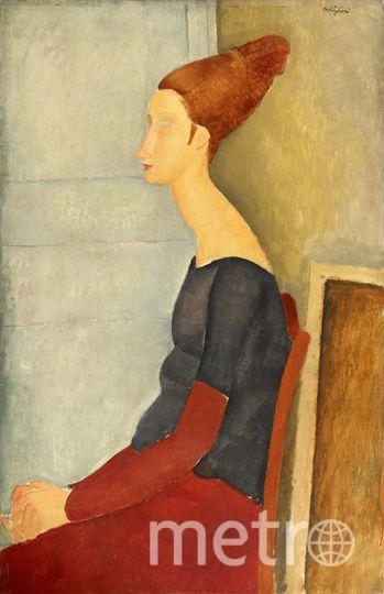 Портрет Жанны Эбютерн (конец 1919 года), Амадео Модильяни.