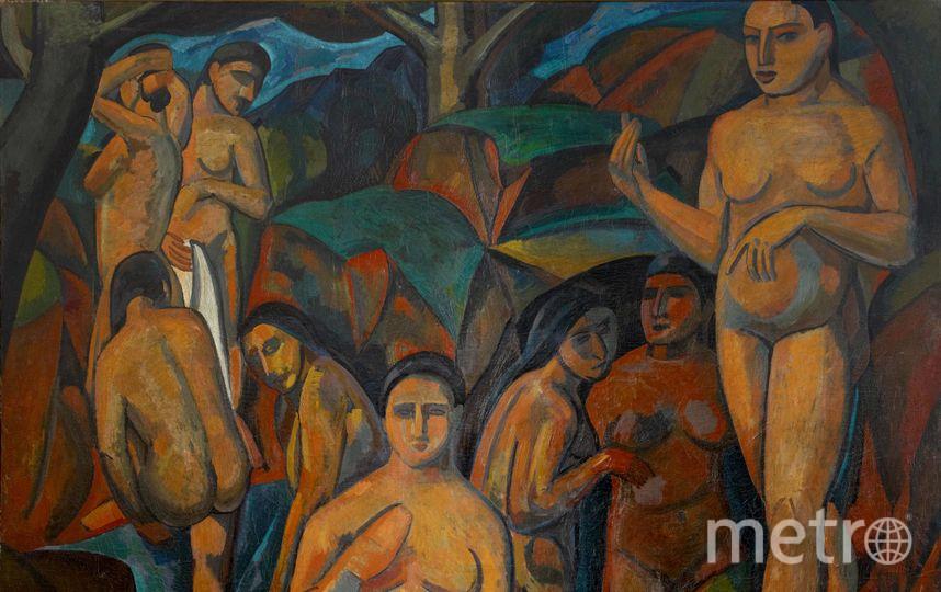 Андре Дерен. «Большие купальщицы» (1908 год) .