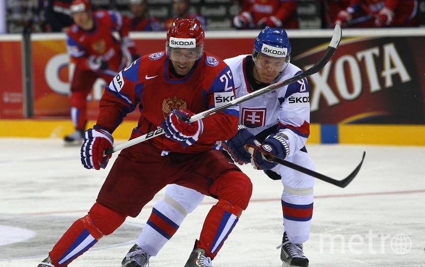 Зарипов в составе сборной России. Фото Getty