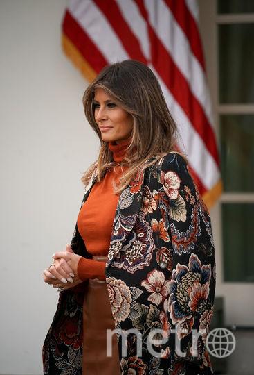 Церемония помилования индеек состоялась в Белом Доме. Мелания Трамп. Фото Getty