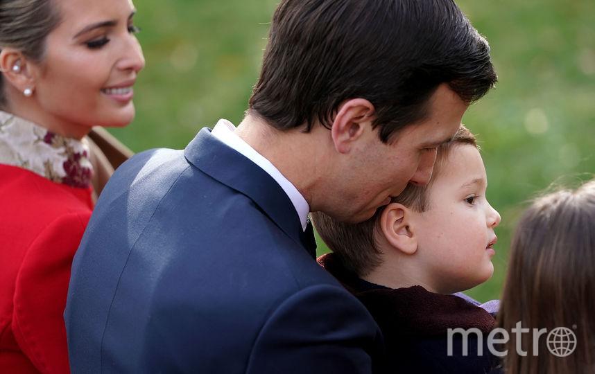 Иванка Трамп с мужем и сыном. Фото Getty
