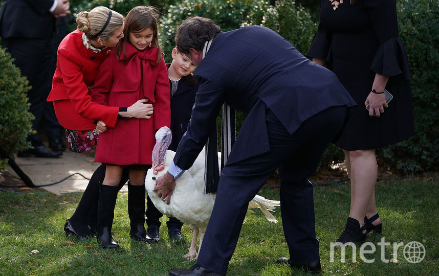 Иванка Трамп с дочкой. Фото Getty