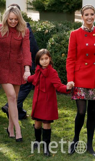 Церемония помилования индеек состоялась в Белом Доме. Тиффани и Иванка Трамп. Фото Getty