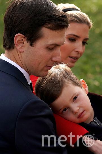 Церемония помилования индеек состоялась в Белом Доме. Иванка Трамп с мужем. Фото Getty