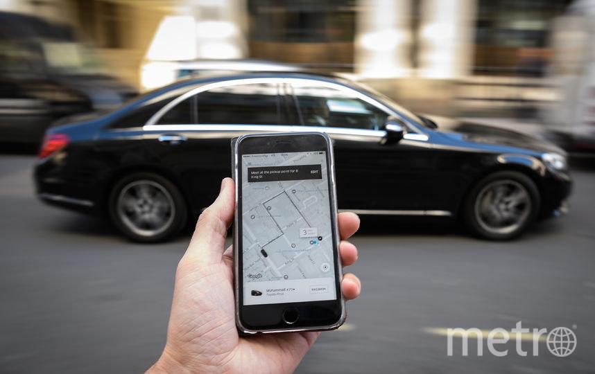 Мобильное приложение Uber. Фото Getty