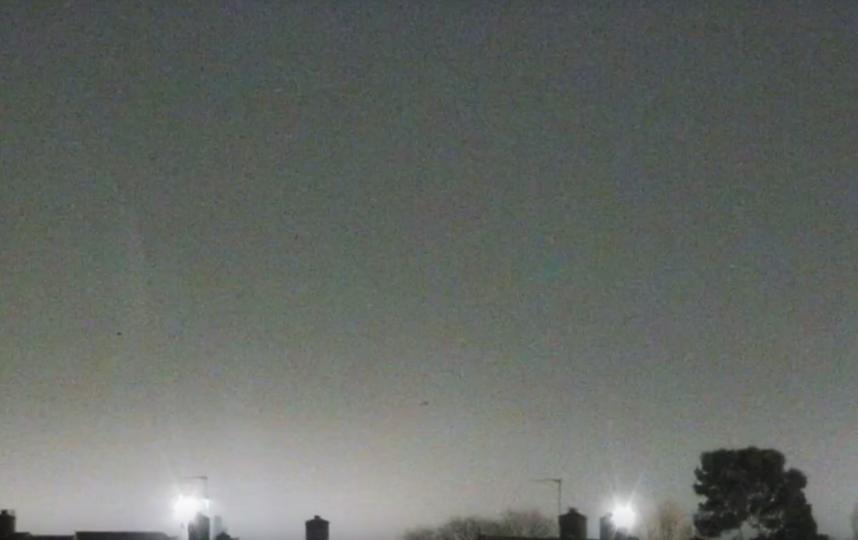 Кадры с видеокамеры, зафиксировавшей НЛО. Фото Скриншот Youtube