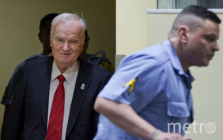 Радко Младич во время вынесения приговора, 22 ноября 2017 года. Фото AFP