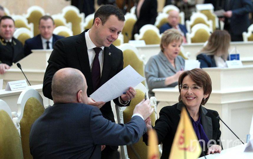 Бюджет Петербурга на 2018 год вызвал недовольство оппозиции. Фото www.assembly.spb.ru