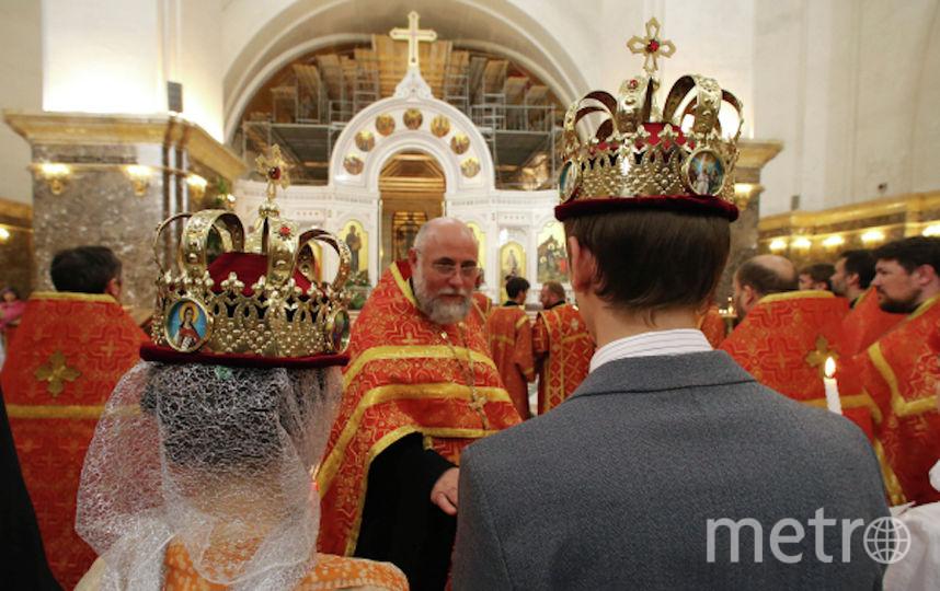Венчание. Фото РИА Новости