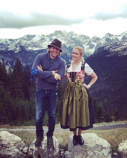 Андрей Малахов с женой. Фото www.instagram.com/natashashkuleva