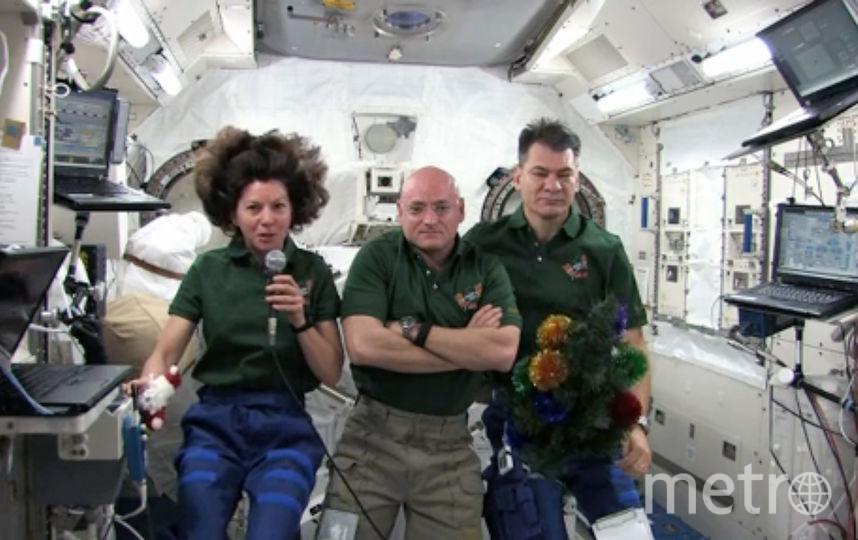 Члены экипажа МКС. Фото Getty