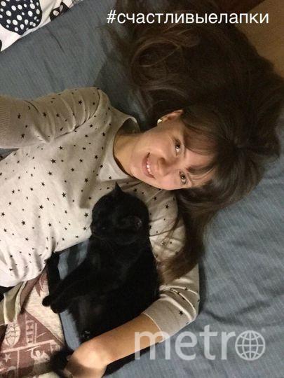 Молодцова Елена Алексеевна, кот Бади.