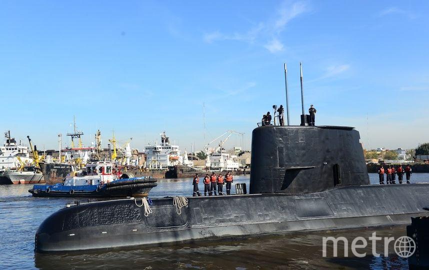 Подводная лодка. Фото AFP