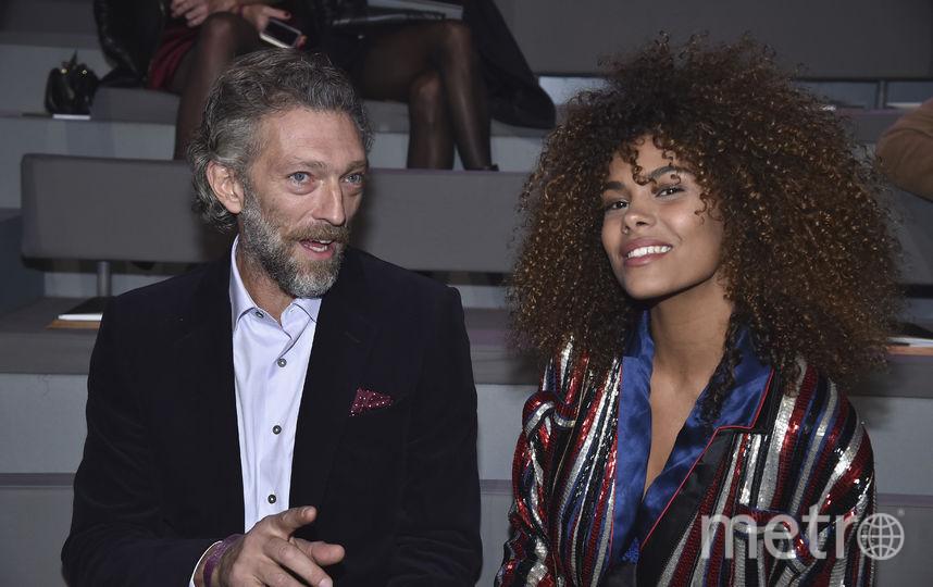 Венсан Кассель и его новая девушка - Тина Кунаки. Фото Getty