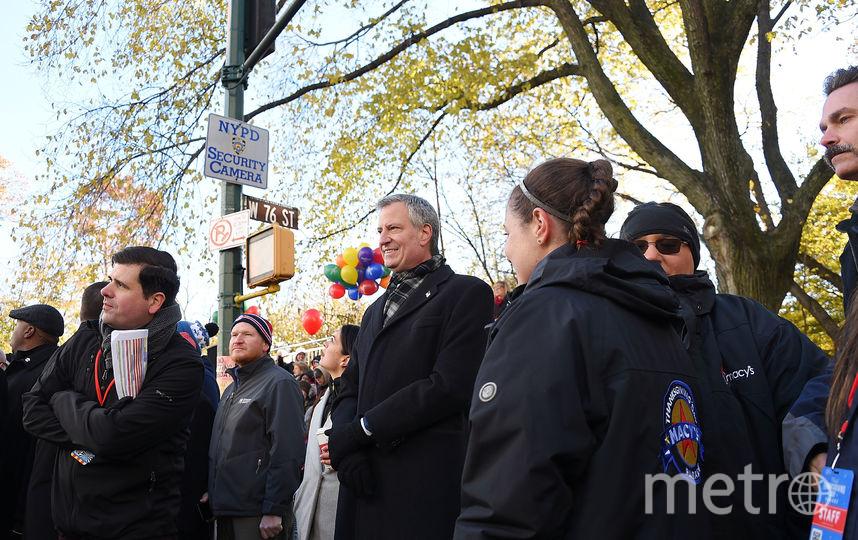Парад посетил мэр Нью-Йорка Билл Де Блазио. Фото AFP