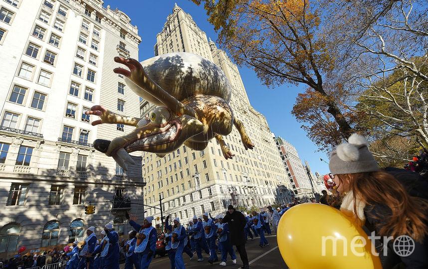 День Благодарения в Нью-Йорке. Фото AFP