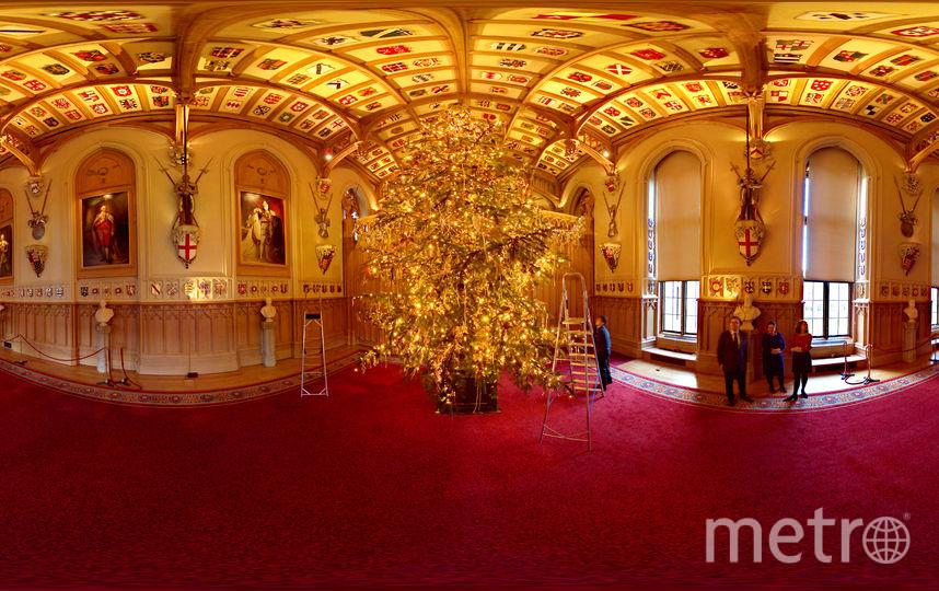 Виндзорский замок украсили к приезду Елизаветы II: Фото. Фото Getty