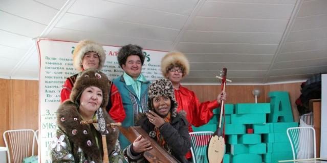 Участница легендарной группы обещала вернуться в хакасский заповедник.