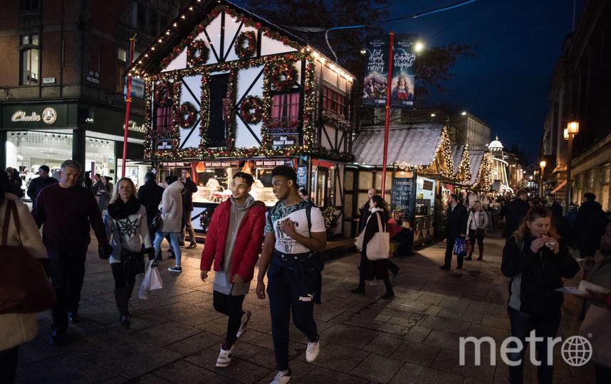 Ноттингем, Великобритания. Фото AFP
