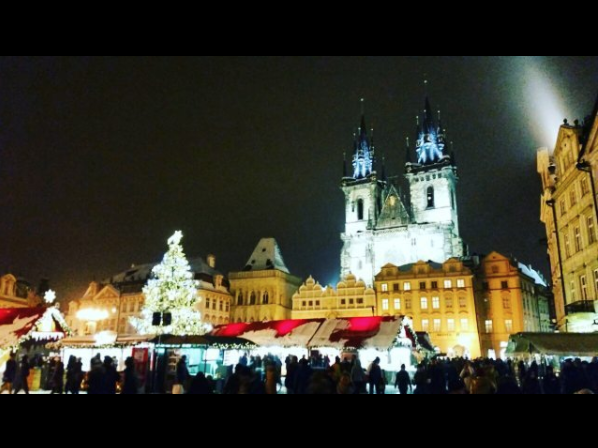 Прага, Чехия. Фото Скриншот instagram.com/p_anastasiia_/