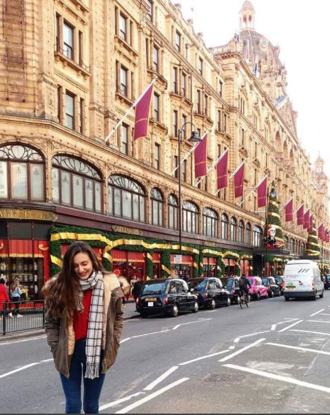 Лондон, Великобритания. Фото Скриншот instagram.com/katerina_gks/
