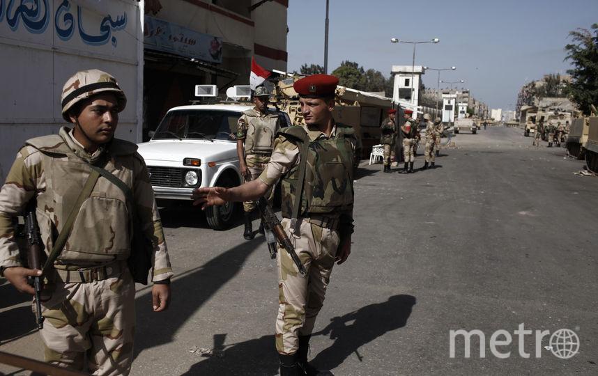 Полиция и военные на Синае работает в усиленном режиме. Фото Getty