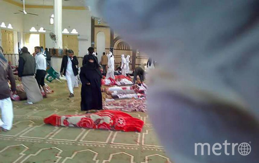 Теракт произошёл в мечети. Фото AFP