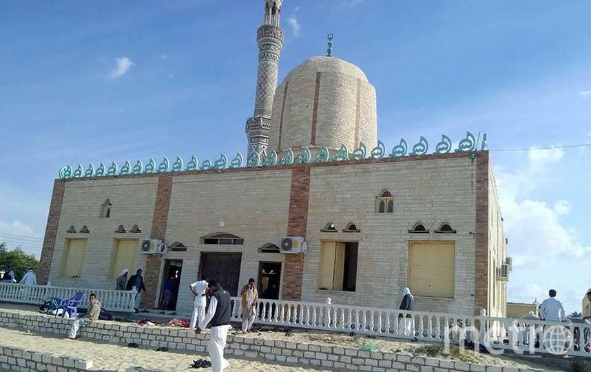 Террористы напали на мечеть на Синайском полуострове. Фото AFP