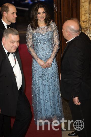 Кейт Миддлтон на благотворительном вечере в Лондоне. Фото AFP