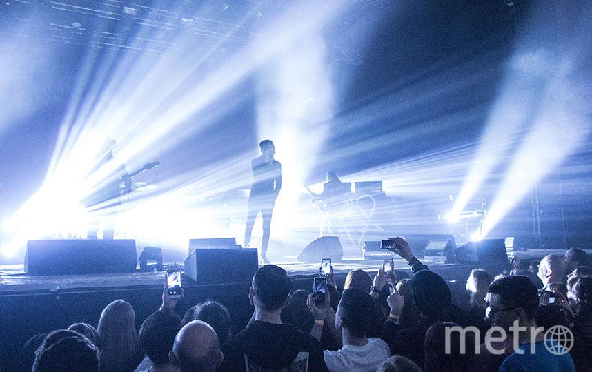 Группа HIM дала прощальный концерт в Петербурге.