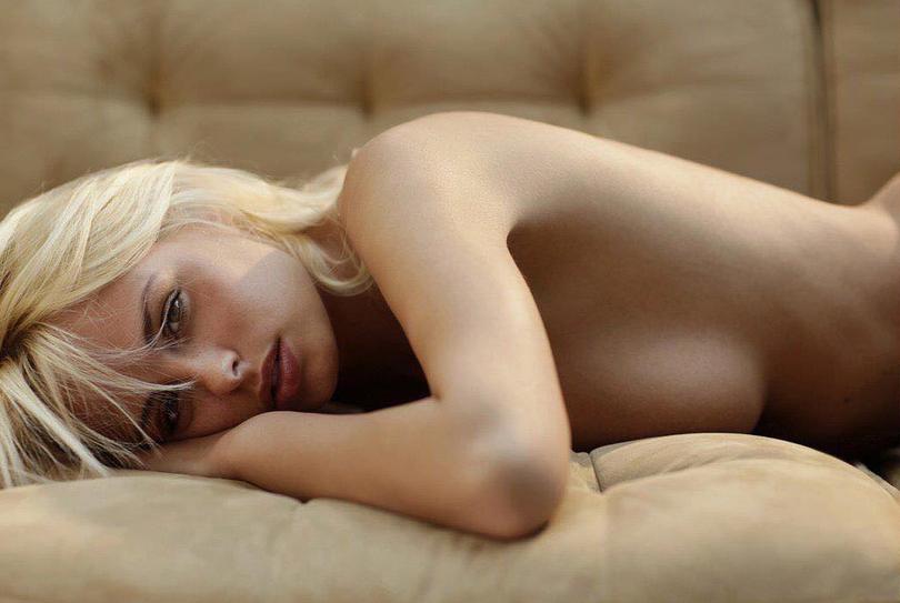 Модель Риан Сагден, фотоархив.
