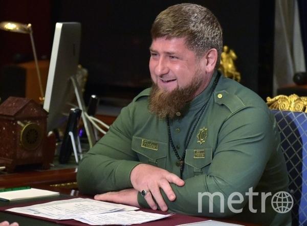 Глава Чеченской республики Рамзан Кадыров. Фото Александр Астафьев, РИА Новости