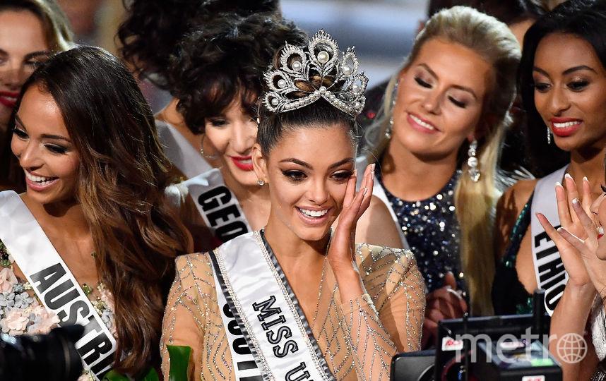 """Деми-Ли Нель-Питерс, новая """"Мисс Вселенная"""". Фото Getty"""