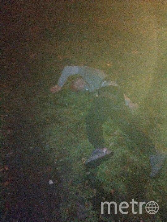 Мужчина сорвался с высоты и остался жив. Фото vk.com
