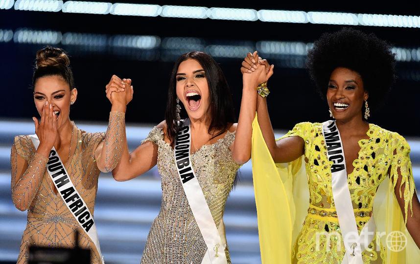 Финалистки конкурса Miss Universe 2017: Деми-Ли Нель-Питерс, Лаура Гонсалес, Давина Беннет. Фото Getty