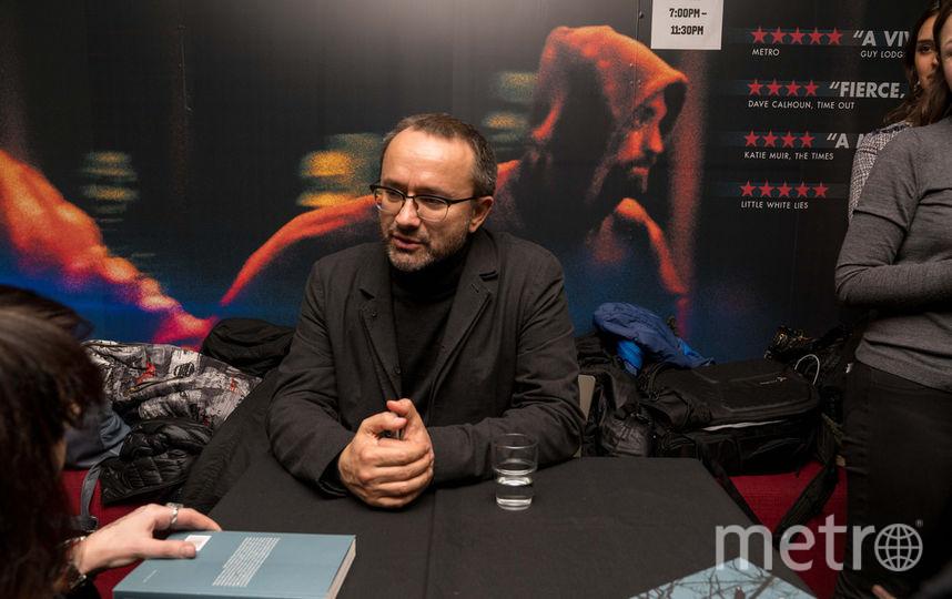 Андрей Звягинцев посетил фестиваль в Лондоне. Фото предоставлено организаторами фестиваля
