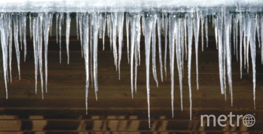 Сосульки - беда зимнего сезона. Фото Getty