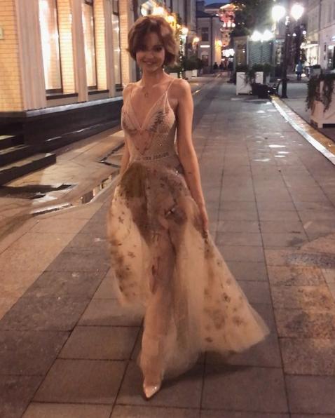 Фото Алеси Кафельниковой без белья появилось в Сети. Фото Скриншот Instagram: alesyakaf