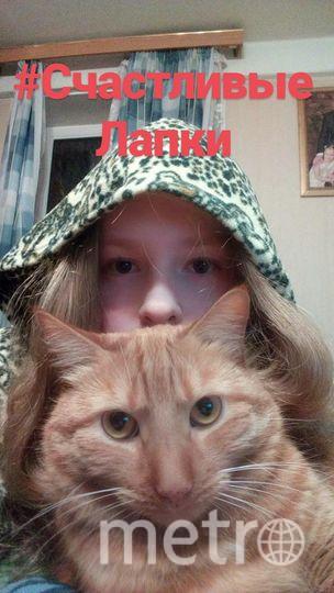 На фотографии Марова Светлана Михайловна вместе с питомцем Шерифом.