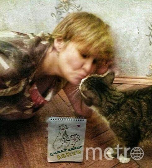 Сергеева Людмила и кот Марсик.