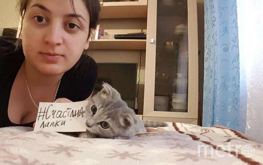 Бессонова Наталья и кошечка Грейси.