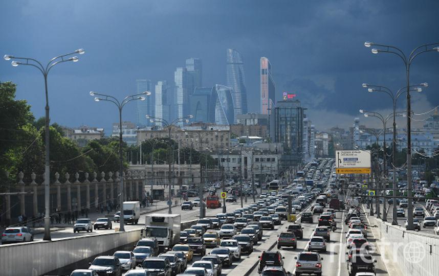 Пробка на Садовом кольце в Москве (архивное фото). Фото РИА Новости