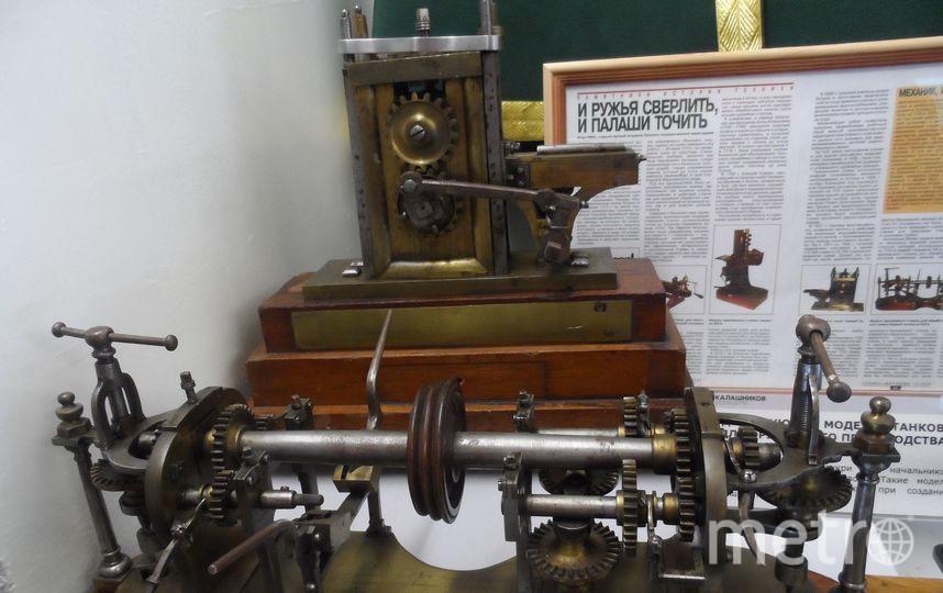Экспонаты музея Ижмаш.