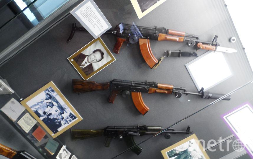 Экспонат музея имени Калашникова.
