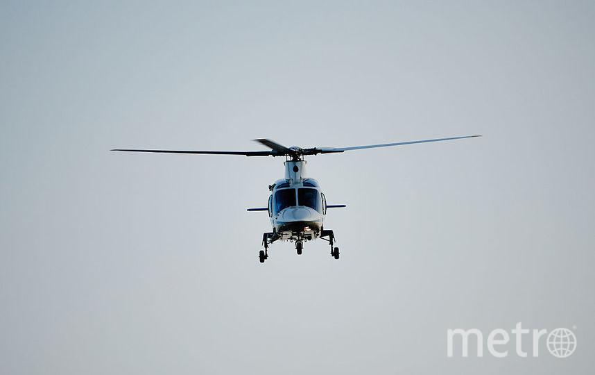 Вертолёт потерпел крушение в Тамбовской области. Фото Getty